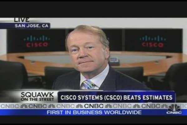 Cisco CEO on Earnings
