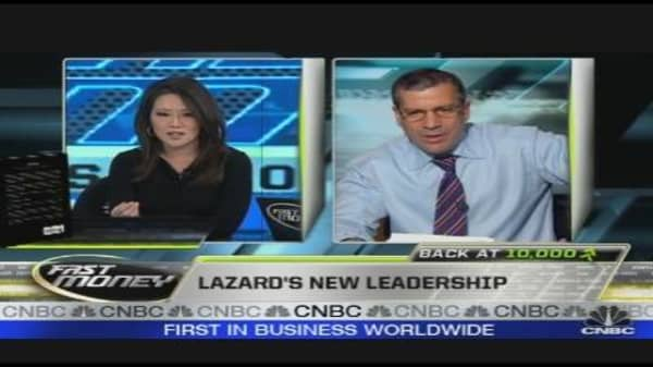 Lazard's New Leadership
