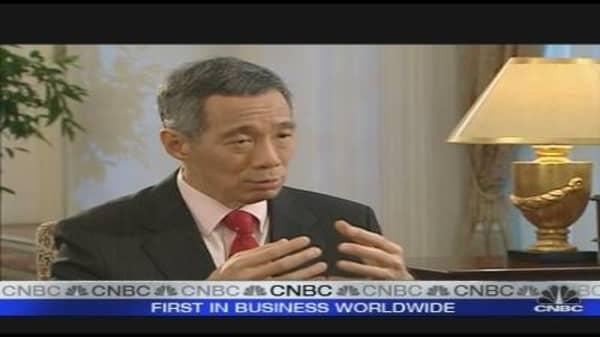 Singapore PM on APEC's Agenda