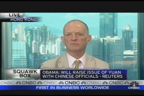 Roche: China Won't Allow Yuan Appreciation