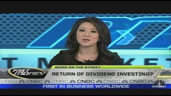 Return of Dividend Investing?