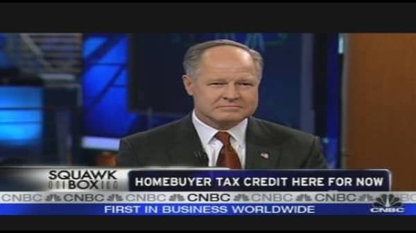 Home Buyer Tax Credit Here for Now
