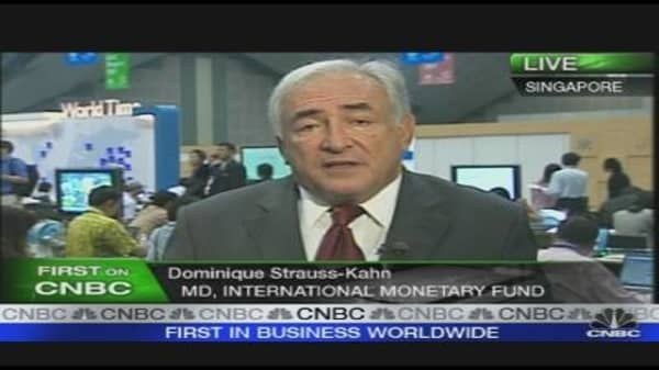 Crisis Not Over Yet: Strauss-Kahn
