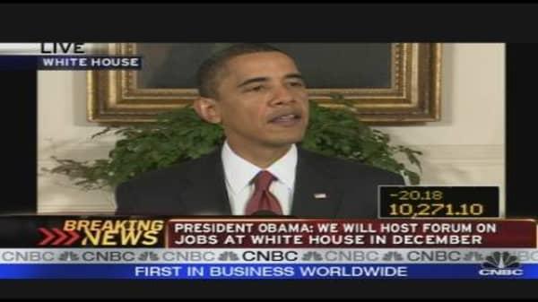 President Obama's Remarks on the Economy