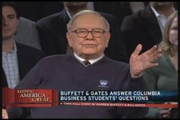 Buffett Talks Investment In Students