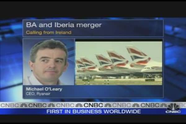 BA, Iberia Like Two Drunks: Ryanair CEO