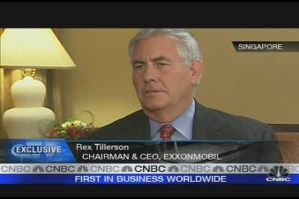 Oil Market Continues to Be Soft: Exxon CEO