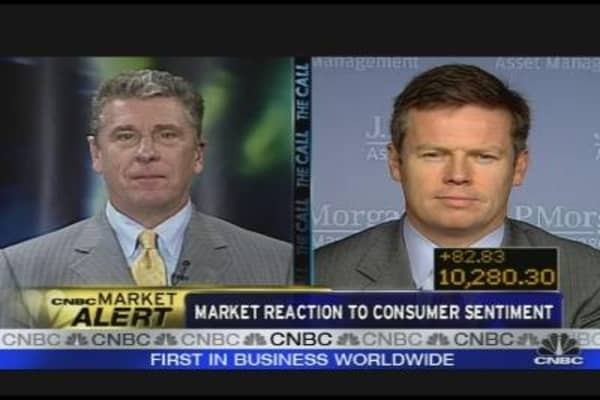 Reacting to Consumer Sentiment