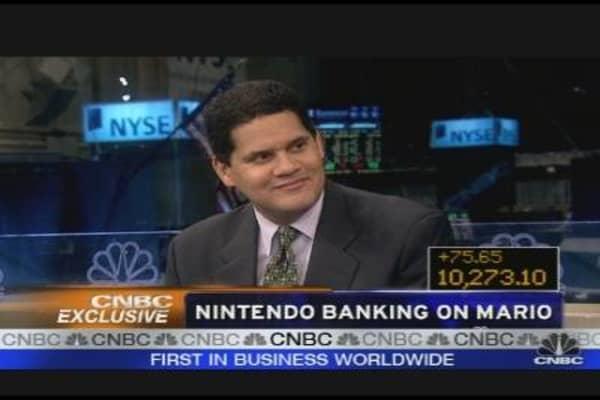 Nintendo Banking on Mario