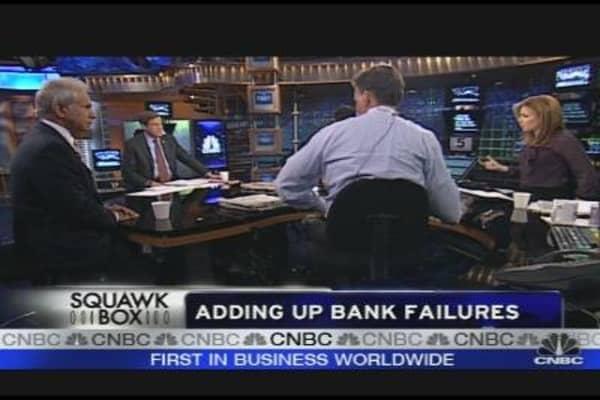 Bank Failures Total at 123
