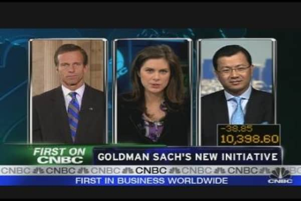 Goldman's New Initiative