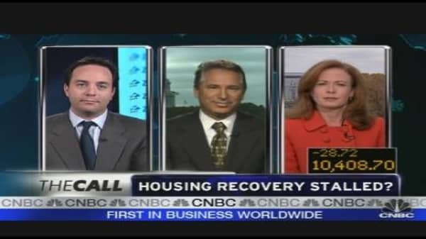Housing Recovery Stalled?