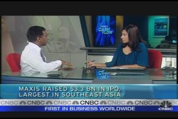Maxis Debuts in Malaysia