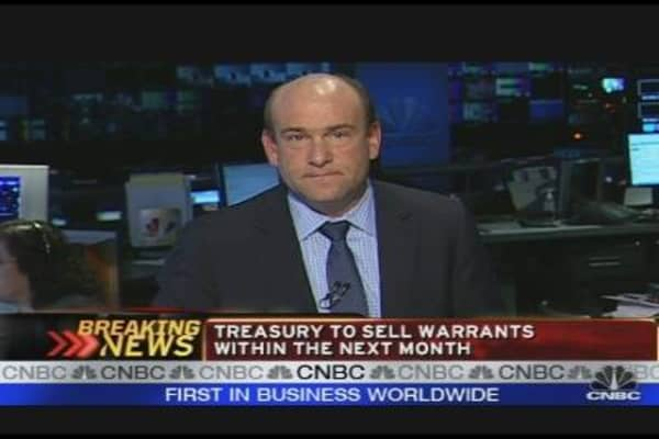 Breaking News: Treasury