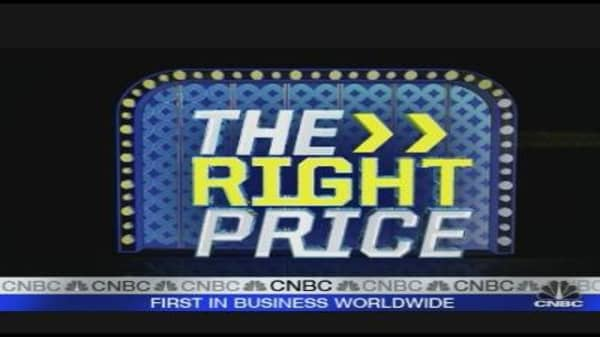 The Right Price