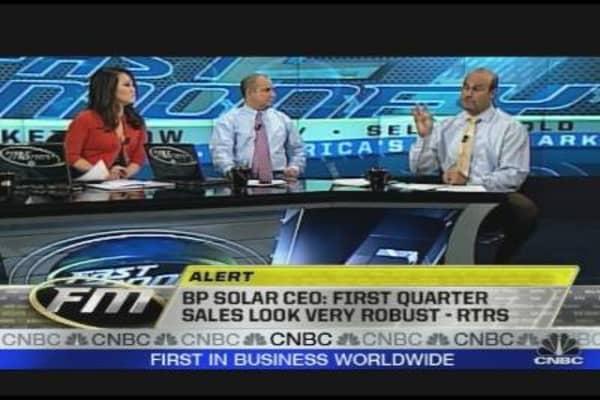 BP Solar Sales Robust