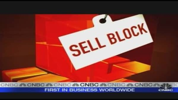 Cramer's Sell Block