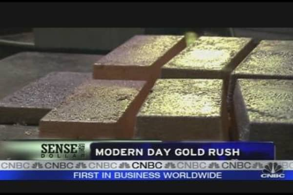 Modern Day Gold Rush Underway