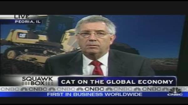Caterpillar CEO on Carbon Tax, Cap & Trade