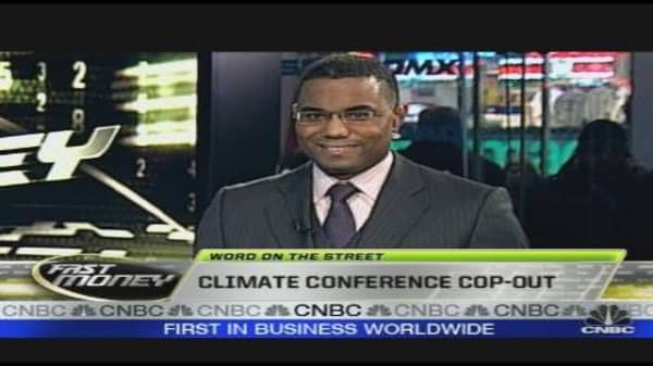 Climate Conference Cop Out