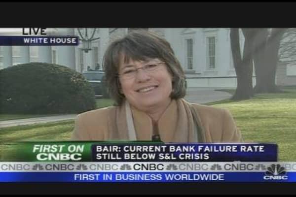 Bair on White House Banker Meeting