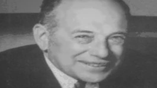 Benjamin Graham, author of 'Intelligent Investor'