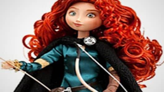 Classic Brave Merida Doll