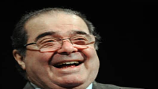 US Supreme Court Justice Antonin Scalia.