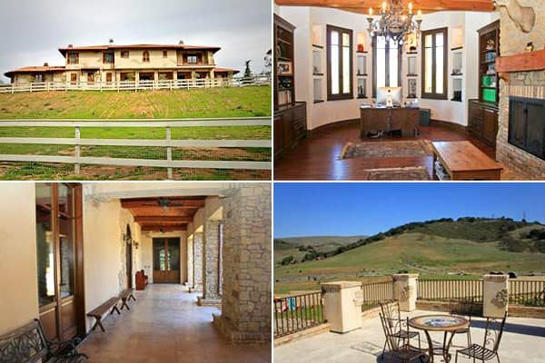 Price: $4.5 millionBedrooms: 5Bathrooms: 8Square Footage: 10,500This equestrian ranch looks like a Mediterranean stone-and-stucco number that at first glance could have been standing on this sloping 5-acre lot for decades. But the  was built in 2008, so it's equipped with features often demanded from the modern real estate buyers, like a workout room, granite floors, wine cellar and double pane windows for energy efficiency.