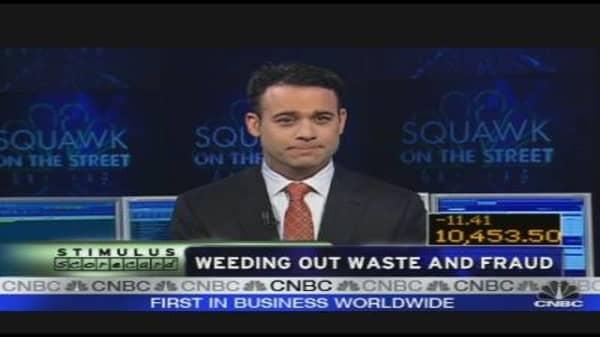 Fraud, Waste & Stimulus