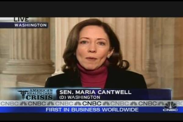 Cantwell Talks Health Care