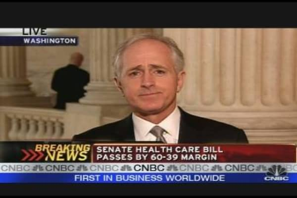 Corker on Health Care Vote