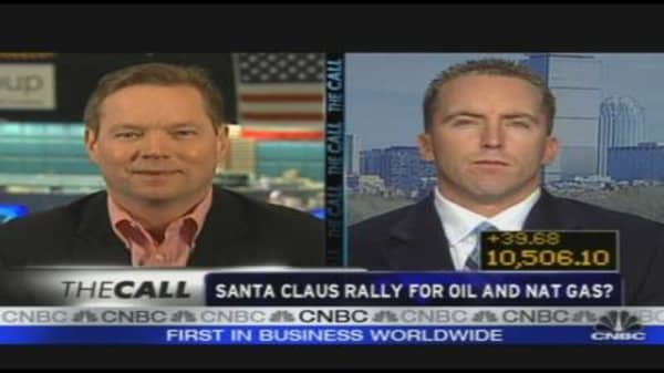 Santa Claus Rally for Oil and Nat Gas