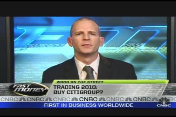 Trading 2010: Buy Citi?