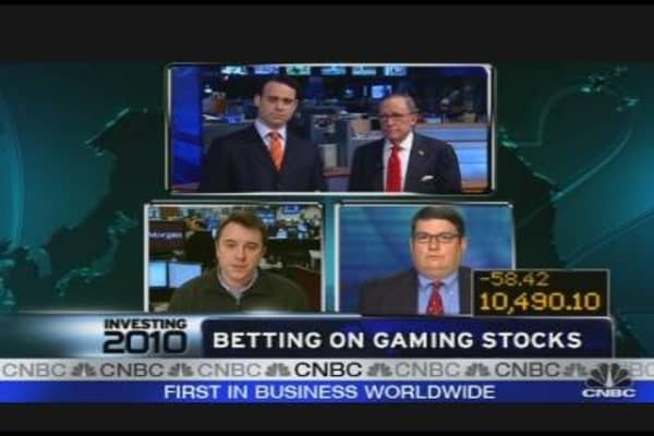 Betting on Gaming Stocks