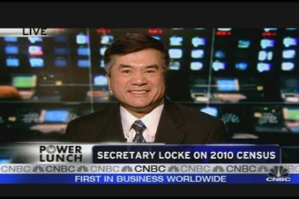 Secretary Locke on China Trade, 2010 Census