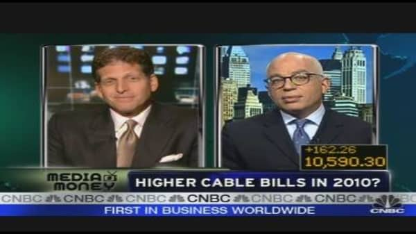 Higher Cable Bills in 2010?