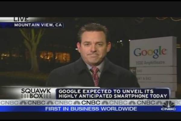 Google Expected to Unveil Smartphone