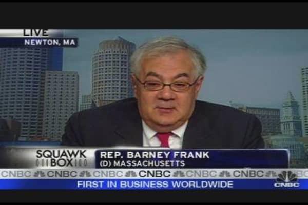 Barney Frank on Financial Reform