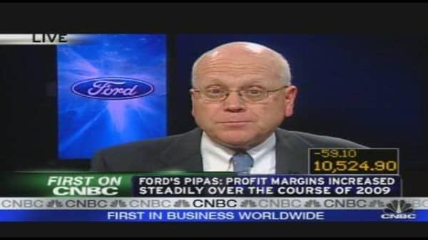 Ford Better Than Expected Sales