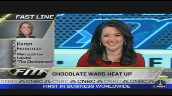 Chocolate Wars Heat Up