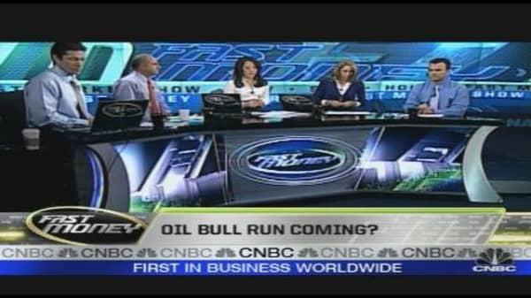 Oil Bull Run Coming?