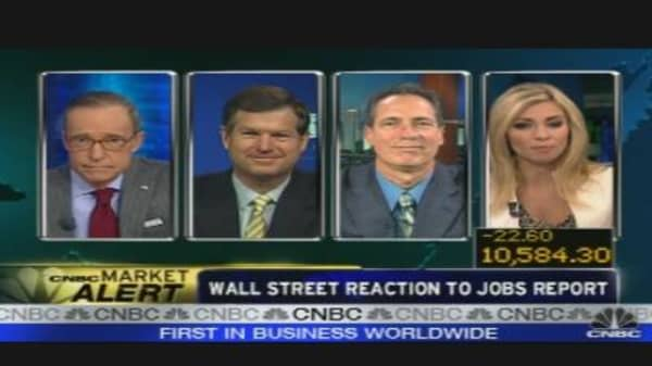 Wall Street Reacts to Jobs Report
