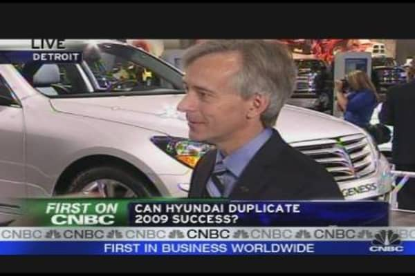 Hyundai USA CEO on 2009 Success
