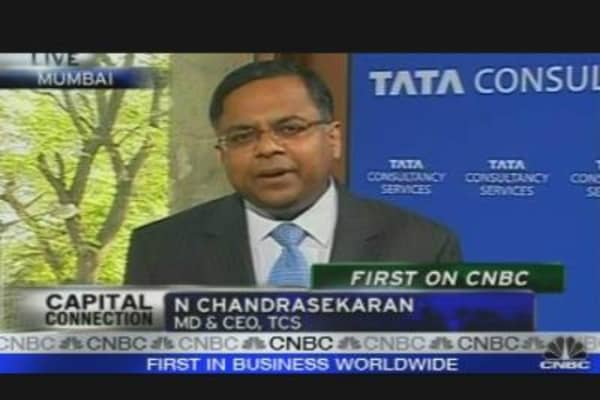 TCS CEO: Pricing Power Flat