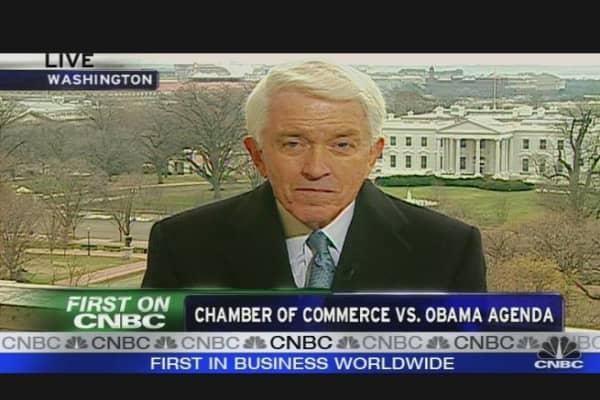 Chamber vs. Obama Agenda