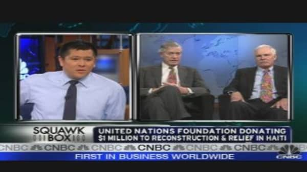 UN Foundation Addresses Climate Change, Donates to Haiti