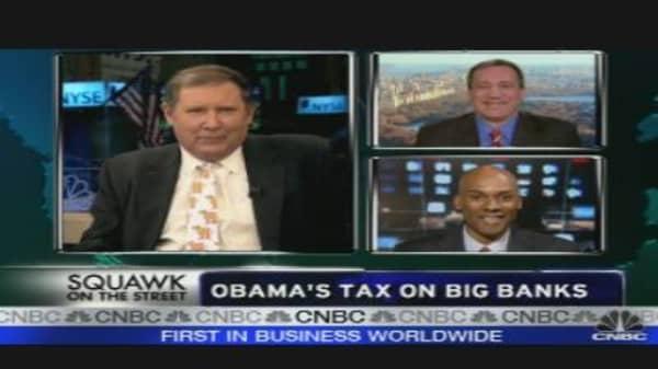 Obama's Tax on Big Banks