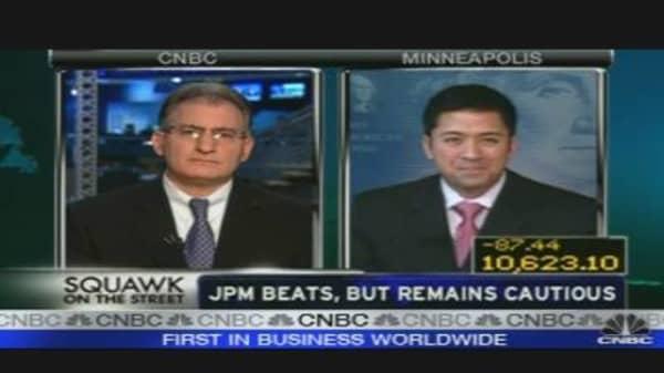 JPM Beats, But Remains Cautious