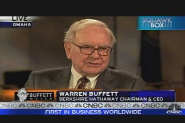 One-On-One with Buffett